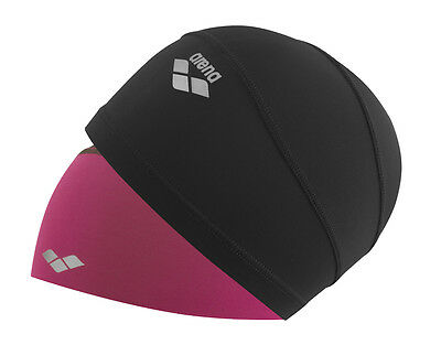 Arena Smart Cap Black/Petunia