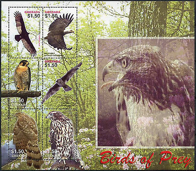 Grenada 2005 SG#MS5018 Birds Of Prey MNH M/S #A88074
