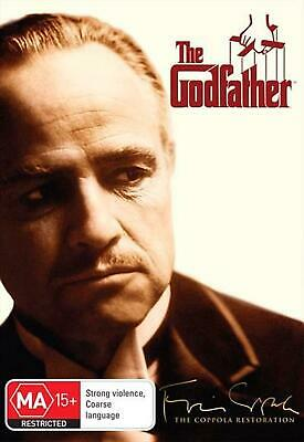 The Godfather - DVD Region 4 Free Shipping!