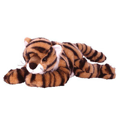 TY Classic Plush - GROWL the Tiger (13.5 inch) - MWMT's Stuffed Animal Toy