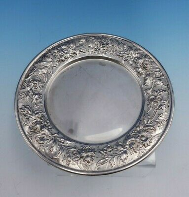 "Repousse by Kirk Sterling Silver Bread and Butter Plate 1/4"" X 6"" #127 (#0097)"