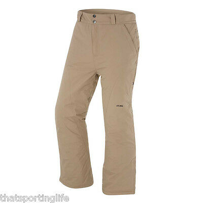 Arctic Star Mens Carve Beige Snow Ski Pants L - 2Xl New Rrp $70 Now $50 Fawn