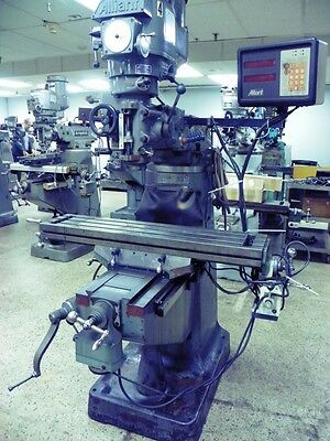 ALLIANT Model 42VC Vertical Mill Milling Machine with DRO