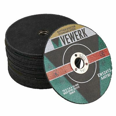 """3"""" Cutting Grinding Discs for Air Cut-off Tool Grinder Cutoff 25 PACK 75mm AT8"""