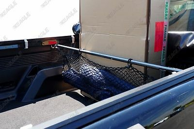 Ford Ranger Pickup Accessories Truck Cargo Bar / Bed Divider With Net