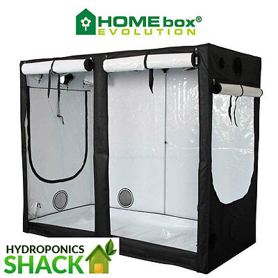 Homebox Evolution R240 240 X 120 X 200 CM Grow Room Portable Hydroponics Tent