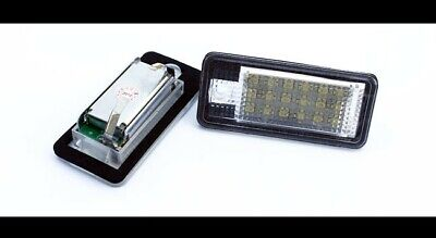 Audi A3 8P A4 S4 8E/B6 RS4 B7 A6 C6 RS6 Q7 LED License Number Plate Light