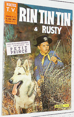 Petit Format Vedettes T.v. Rin Tin Tin & Rusty N°20 1961 Eo Sage