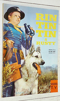 Petit Format Vedettes T.v. Rin Tin Tin & Rusty N°22 1961 Eo Sage