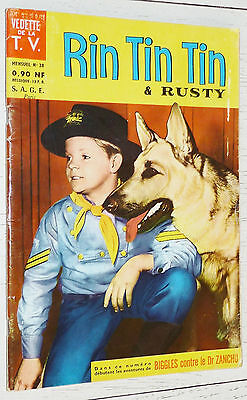 Petit Format Vedettes T.v. Rin Tin Tin & Rusty N°24 1962 Eo Sage Biggles