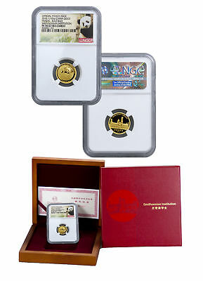 Bao Bao 2015 Smithsonian China Panda 1/10 oz Gold Medal NGC PF70 UC SKU36056
