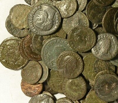 Quality Bronze Roman Coins - Good Condition & Details!