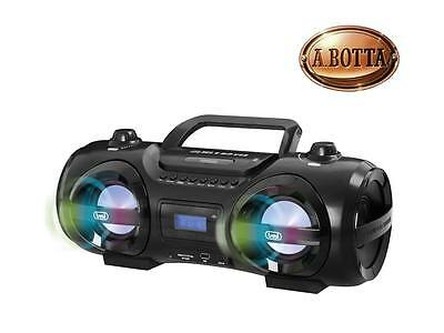 Altoparlante Boombox Blaster Trevi CMP850BT Lettore CD Mp3 Usb Bluetooth