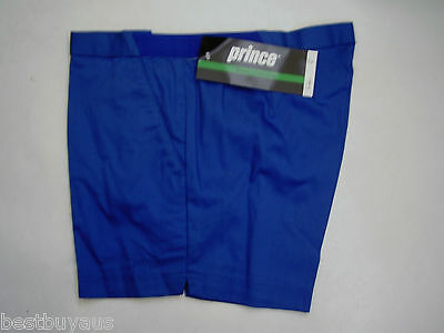 Mens Blue Green Navy Retro Prince Tennis Shorts Various Sizes New Old Stock!!!
