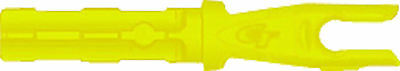 GOLD TIP  Archery Accu-Tough Nock, yellow 12pk, will fit all S size shafts