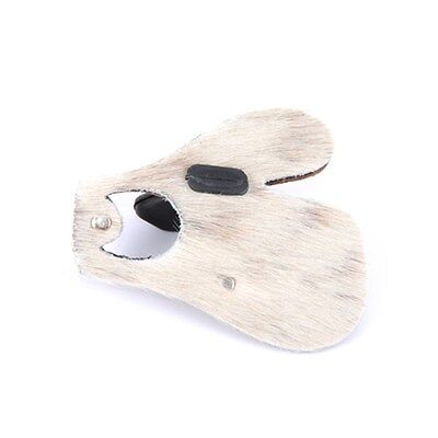 BEARPAW ARCHERY  Archery Tab Calf Hair with Finger Separator LARGE RH only