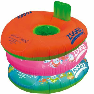 Zoggs Swimming Trainer Seat Ring Baby/Toddler Floating/Inflatable Water Aid Bn