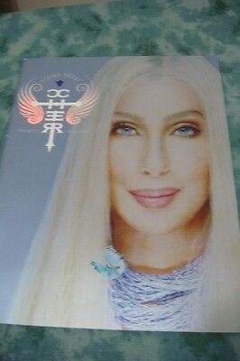 Cher 2003 Living Proof Farewell Tour Concert Program Book