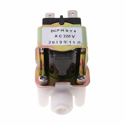 AC 220V Electric Plastic Solenoid Valve for Water Purifier Air Inlet Pipeline