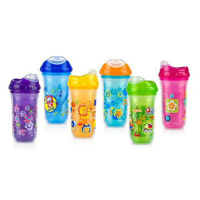1 NEW Nuby Sippy Cup Insulated Cool Sipper No-Spill