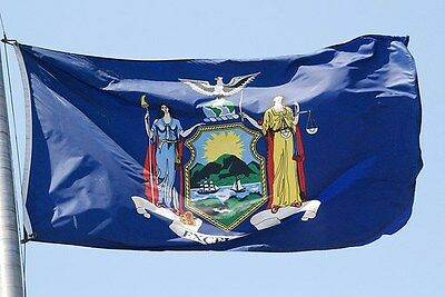 NEW YORK STATE OF FLAG NEW 3x5 ft
