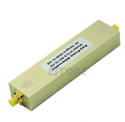 New Adjustable Press Variable Attenuator 5W DC-2.5Ghz 0-90dB SMA 8-key step 1db