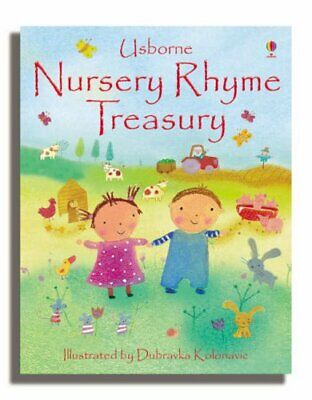 The Nursery Rhymes Treasury, Various Hardback Book The Cheap Fast Free Post