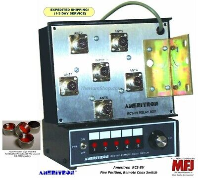 8 POSITION ANTENNA switch up to 2 5KW on HF - $30 00 | PicClick