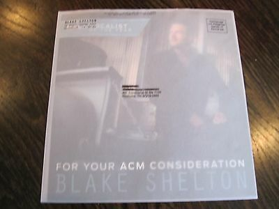 """Blake Shelton Industry Only Mailing """"For Your ACM Consideration"""""""