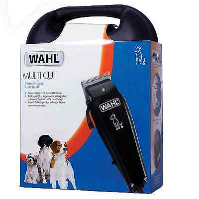 New Wahl Multi Cut Mains Dog Clipper Set & Instructional DVD