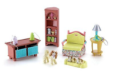 Fisher Price Loving Family Living Room 2006 Yellow Chair NEW Twintime Dollhouse