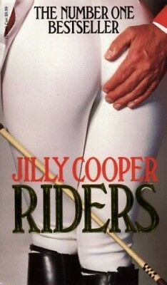 Riders, Cooper, Jilly Paperback Book The Cheap Fast Free Post