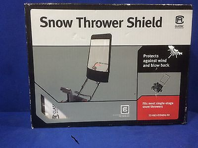 Classic Accessories Snow Thrower Shield Model 52-065-010404-00 Polyester