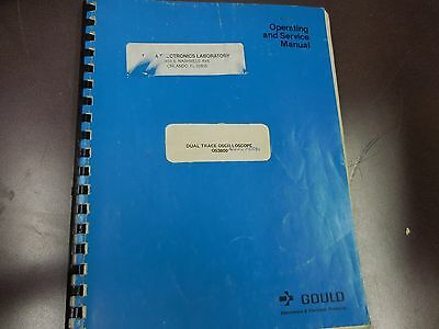 gould dual trace oscilloscope service manual os3600 3310b 2 25 00 rh picclick com Quick Reference Guide User Guide Template