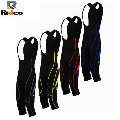 Mens Cycling 3/4 Bib Shorts Coolmax Padding Cycle Tight Shorts Mens Bike Tights