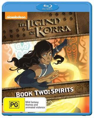 Legend Of Korra, The - Spirit: Book 2 - Blu Ray Region B Free Shipping!
