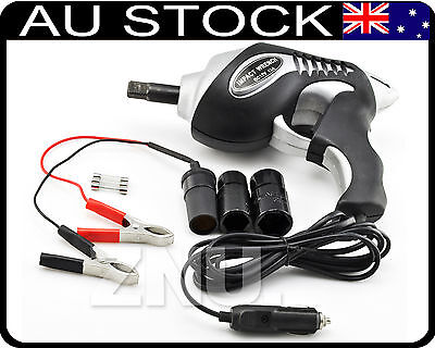 12V High Power Electric Impact Wrench Wheel Socket TRACKED COURIER Car NEW