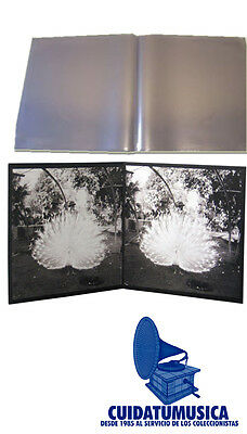 50 Fundas Gatefold Medium Galga 400 Discos De Vinilo Doble Lp -Carpeta Abierta-