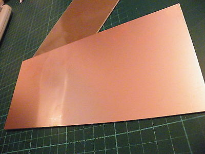 100 x 220mm Copper Clad PCB FR2 Laminate Single Side Budget Quality Board 062