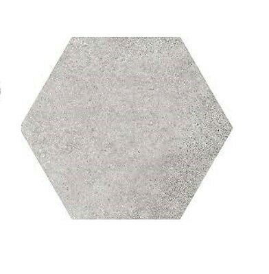 Hexatile Cement Grey 17.5 x 20