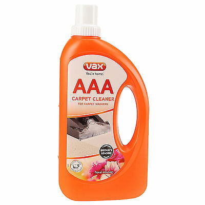 Vax AAA Improved Carpet Formula Cleaning Solution Shampoo 750ML