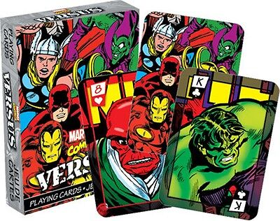 Marvel Comics Versus (colour) set of 52 playing cards (nm 52323)