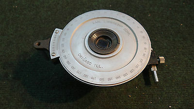 Karl Lambrecht Rotary Stage Laser Optical Mount Dial 0-180
