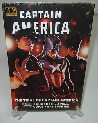 Captain America The Trial Of Premiere Edition Marvel HC Hard Cover New Sealed