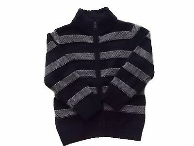 NWT Boy's Gymboree S'more Style blue striped sweater ~ 4 5 6 7 8 FREE SHIPPING!