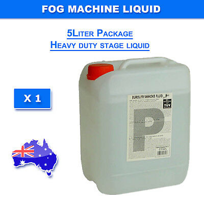5 Liter  Smoke Machine Liquid Fluid Led and Laser Light HEAVY DUTY MIST