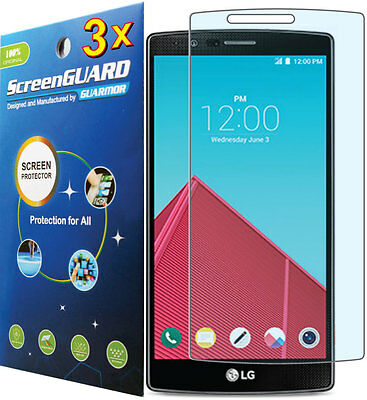 3x Clear HD LCD Screen Protector LG G4 LTE H815 H812 H810 H811 VS986 LS991 US991