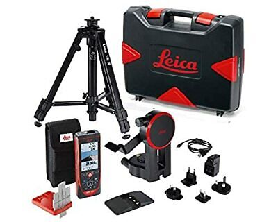 Leica DISTO S910 Pro Package 806677 with FTA360-S adapter and TRI 70 tripod