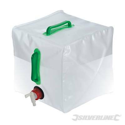 20 Litre Collapsible Water Storage Container Camping Carrier with Tap