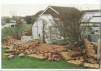 Disaster Postcard - Hurricane Force Winds - Durrington - Worthing 1990 -  A7904